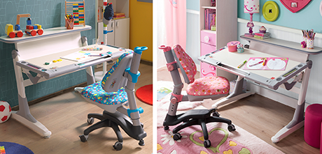 Cilek ergonomiczne biurka i krzesła