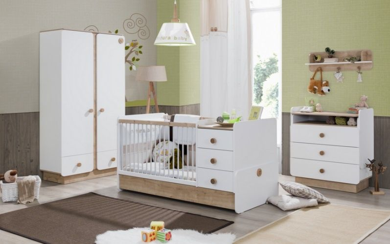 Natura baby cilek pokoje niemowl ce for Chambre bebe petite surface
