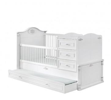 Cilek Romantic łóżeczko kompaktowe 180x80
