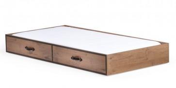 Wysuwana szuflada do piętrowego łóżka Black Pirate 190cm*90cm