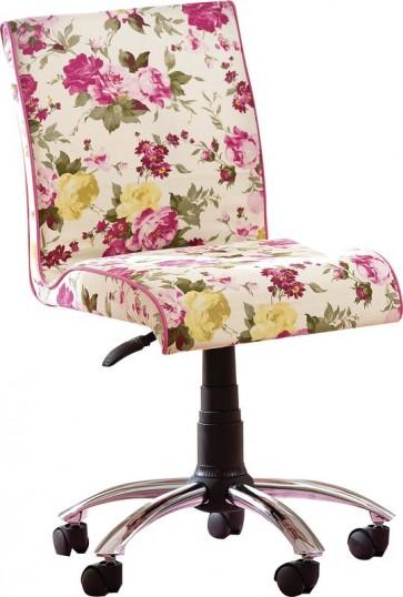 Flora soft krzesło różowe