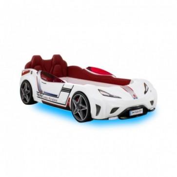 GTi Cilek - łóżko samochód biały