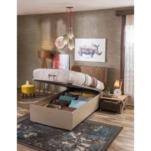 Łóżko z pojemnikiem Lofter ( 100 x 200cm)