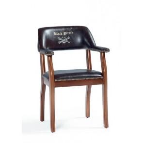 Black Pirate krzesło