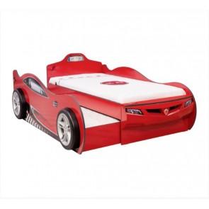 Cilek Coupe łóżko z szufladą samochód- kolor czerwony