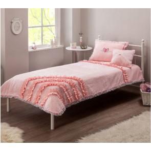Yakut Rosa narzuta z poduszkami 135 x 230 cm
