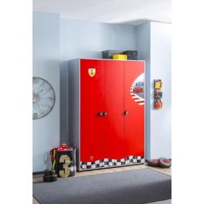 Cilek Racecup 3 drzwiowa szafa