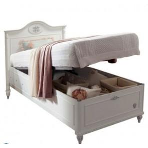 Romantic tapczan łóżko 90x190cm