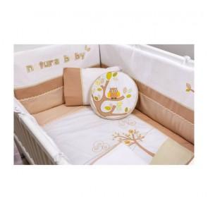 Natura Baby zestaw akcesoriów do łóżeczka (80x130 cm)