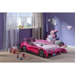 Spyder Cilek łóżko samochód ( 70x130cm) różowy